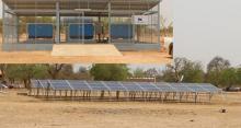 30KWp / 77KVA PV-Diesel Hybrid System in Bilgo, Burkina Faso (source: 2iE)