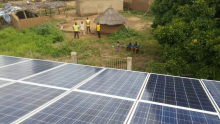 Seven PV mini-grid plants inaugurated in Burkina Faso