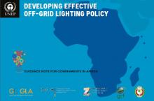 Developing Effective Off-Gride Lighting Policy for Africa