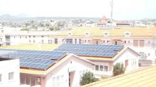 PV systems installed in Agostinho Neto Central Hospital in Praia