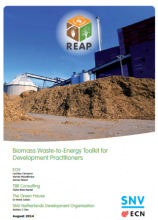 Biomass Waste-to-Energy Toolkit for Development Practitioners