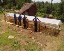 New Solar Dryers in Lofa Country, Liberia