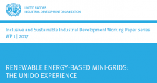 Renewable energy-based mini-grids: The UNIDO experience
