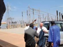 EU Commisioner visits Zagtouli site